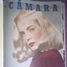 Cine: REVISTA CAMARA 1947 2DO.SEMESTRE 12 REVISTAS DE CINE. Lote 289457283