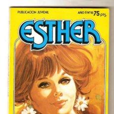 Cine: 2 ESTHER-JOYAS LITERARIAS JUVENILES-SERIE AZUL-Nº 9-AÑO 1981-MINI PUBLICACIÓN JUVENIL 1983 Nº 18. Lote 289546863