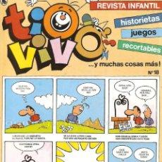 Cine: 2 TIO VIVO Nº 18-19 HISTORIETAS RECORTABLES JUEGOS NUEVO 1986 BRUGUERA. Lote 289547518