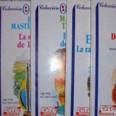 Cine: 7 NOVELAS DE AMOR COLECCIÓN. AZUL ROMÁNTICO GTS 1987 DOS DE BABY NUEVAS. Lote 289550293