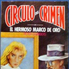 Cine: 2 NOVELA CIRCULO DEL CRIMEN FORUM-3-23 NUEVO-1983 SUSPENSE MISTERIO. Lote 289551598