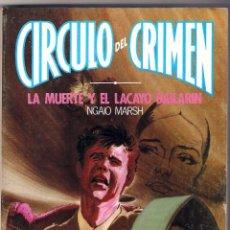 Cine: 2 NOVELA CIRCULO DEL CRIMEN FORUM-26-27 NUEVO-1983 SUSPENSE MISTERIO. Lote 289551753
