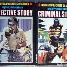 Cine: 2 CRIMINAL-DETECTIVE STORY Nº 1 SACCOMANNO-COLLINS-DIBUJOS MANDRAFINA A. FERNÁNDEZ 1989 NUEVO. Lote 289558338