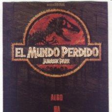 Cine: P-9642- JURASSIC PARK. EL MUNDO PERDIDO (THE LOST WORLD) JEFF GOLDBLUM - JULIANNE MOORE. Lote 289580478