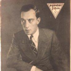 Cine: POPULAR FILM NUMERO 213, BUSTER KEATON, 1930. Lote 289659518