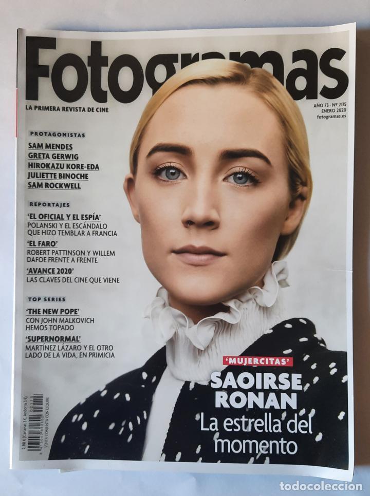 REVISTA FOTOGRAMAS - ENERO 2020 - PORTADA SAOIRSE RONAN (Cine - Revistas - Fotogramas)