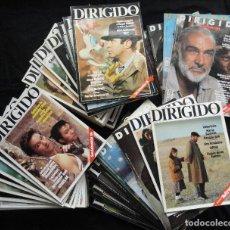 Cine: 70 REVISTAS DE CINE DIRIGIDO POR... DEL 103 DE 1983 AL 204 DE 1992. VER LISTA. Lote 289765338