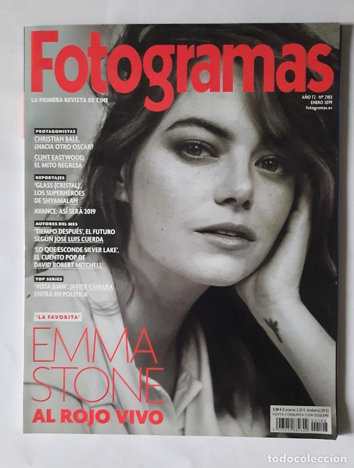 REVISTA FOTOGRAMAS - ENERO 2019 - PORTADA EMMA STONE (Cine - Revistas - Fotogramas)