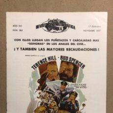 Cine: CINEINFORME N° 282 (1ª QUINCENA NOVIEMBRE 1977). DOS SÚPER POLICÍAS,…. Lote 289857083