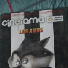 Cine: REVISTA CINERAMA ** NOVIEMBRE 2014 - PORTADA: LOS PINGÜINOS DE MADAGASCAR (DREAMWORKS). Lote 289864648
