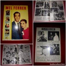 Cine: MEL FERRER ( COLECCIÓN CINECOLOR ). Lote 290573268
