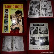 Cine: TONY CURTIS ( COLECCIÓN CINECOLOR ). Lote 290580033