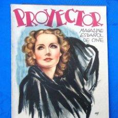 Cine: PROYECTOR. MAGAZINE ESPAÑOL DE CINE. JULIO Y AGOSTO DE 1936.. Lote 290594768
