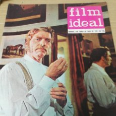 Cine: FILM IDEAL. REVISTA DE CINE. 1. JUNIO. 1.963.. Lote 291192078