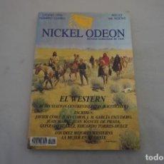 Cine: ARR/ NIKEL ODEON - REVISTRA TRIMESTRAL DE CINE - OTOÑO DE 1996 - NUMERO CUATRO WESTER. Lote 294000728