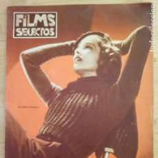 Cine: REVISTA FILMS SELECTOS Nº 304 - OCTUBRE 1936 - KATHARINE HEPBURN. Lote 294448543