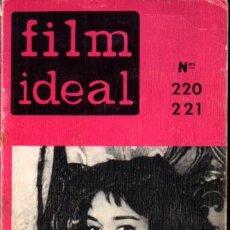 Cine: FILM IDEAL 220-221 ESPECIAL PECKINPAH - 416 PÁGINAS. Lote 294847503