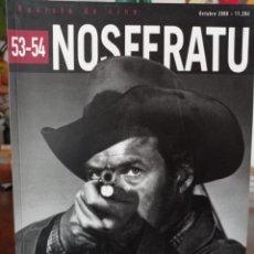 Cine: NOSFERATU REVISTA DE CINE Nº 53-54 LA GENERACIÓN DE LA VIOLENCIA DEL CINE NORTEAMERICANO.2009. Lote 295001978