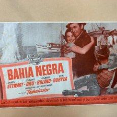 Cine: BAHÍA NEGRA. JAMES STEWART. Lote 295269363