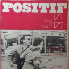 Cine: POSITIF REVUE DE CINEMA 171-172 - JOHN DALL / CANNES 1975. Lote 295512858