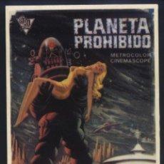 Cine: P-9665- PLANETA PROHIBIDO (FORBIDDEN PLANET) (RECORTE PRENSA 10X14) WALTER PIDGEON - ANNE FRANCIS. Lote 295513753