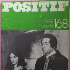 Cine: POSITIF REVUE DE CINEMA 168 - BERTRAND TAVERNIER / BARBARA LODEN / JEAN AURENCHE. Lote 295514148