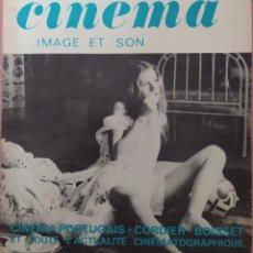 Cine: LA REVUE DU CINEMA - YVES BOISSET / ROBERT GRELIER / GUY ALLOMBERT. Lote 295517053