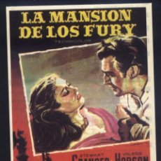 Cine: P-9667- LA MANSIÓN DE LOS FURY (BLANCHE FURY) (RECORTE PRENSA 10X14) STEWART GRANGER. Lote 296695278