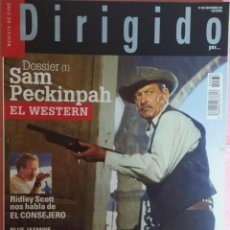 Cine: MAGAZINE DIRIGIDO 438 - SAM PECKINPAH / EDGAR WRIGHT / WILLIAM HOLDEN. Lote 296808723