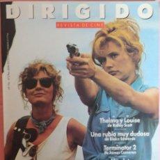 Cine: MAGAZINE DIRIGIDO 196 - THELMA Y LOUISE / TERMINATOR 2 / BLAKE EDWARDS / FRANCO ZEFFIRELLI. Lote 296812348