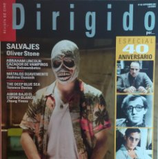 Cine: MAGAZINE DIRIGIDO 425 - CHRISTOPHER NOLAN / EL CABALLERO OSCURO / OLIVER STONE. Lote 296814633
