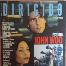 Cine: MAGAZINE DIRIGIDO 292 - TOM CRUISE / THANDIE NEWTON / JOHN WOO / MISION IMPOSIBLE. Lote 296816253