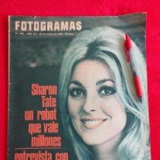 Cine: REVISTA CINE FOTOGRAMAS ANTIGUA Nº902 ENERO 1966 SHARON TATE - AUDREY HEPBURN - BEATLES. Lote 296827853