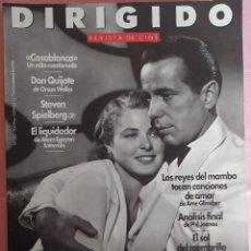 Cine: MAGAZINE DIRIGIDO 202 - HUMPHREY BOGART / INGRID BERGMAN / CASA BLANCA / ORSON WELLES. Lote 296928373