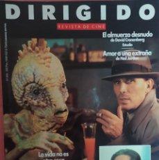 Cine: MAGAZINE DIRIGIDO 203 - PETER WELLER / DAVID CRONENBERG / STAR TREK / NEIL JORDAN. Lote 296928783
