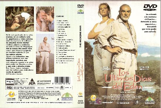 CARÁTULA DE DVD DE 'LOS ÚLTIMOS DÍAS DEL EDÉN', CON SEAN CONNERY. (Cine - Varios)