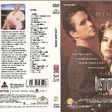 Cine: CARÁTULA DE DVD DE 'INSTINTO BÁSICO', CON SHARON STONE.. Lote 4297880