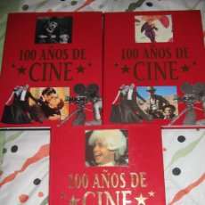Cine: ENCICLOPEDIA 100 AÑOS DE CINE EDICIÓN ESPECIAL Y CONMEMORATIVA POR LOS 100 AÑOS DEL CINE.. Lote 25079201