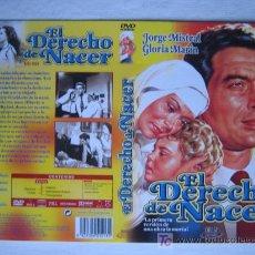 Cine: CARATULA DE DVD - EL DERECHO DE NACER- CINE ESPAÑOL. Lote 6961026