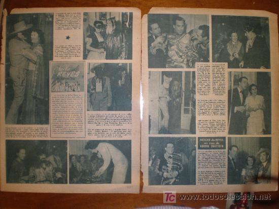 NOCHE DE REYES EN CASA DE AURORA BAUTISTA. PRIMER PLANO: RECORTE PRENSA (Cine - Varios)
