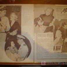 Cine: VIRGINIA MAYO. 1951. PRIMER PLANO: RECORTE DE PRENSA. Lote 7265994