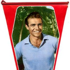 Cine: BANDERIN CINE , ORIGINAL AÑOS 60-70 , ACTOR SEAN CONNERY , BC1. Lote 14649124