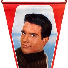 Cine: BANDERIN CINE , ORIGINAL AÑOS 60-70 , ACTOR WARREN BEATTY, BC57. Lote 14649090