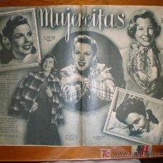 Cine: MUJERCITAS. 1949. PRIMER PLANO: RECORTE DE PRENSA. Lote 7391017
