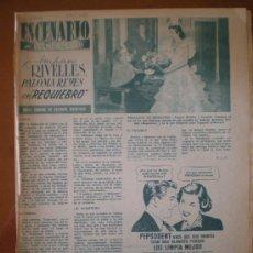 Cine: AMPARO RIVELLES , PALOMA REYES EN REQUIEBRO. 1954. PRIMER PLANO: RECORTE DE PRENSA. Lote 7397248