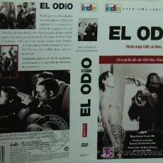 Cine: CARATULA DE VIDEO - EL ODIO - MATHIEU KASSOVITZ. Lote 8266309