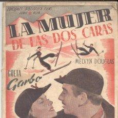 Cinéma: LA MUJER DE LAS DOS CARAS GRETA GARBO MELVYN DOUGLAS. Lote 8328380