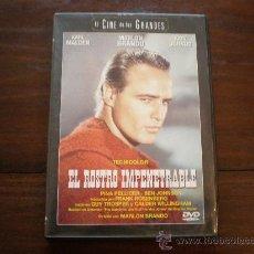 Cine: EL ROSTRO IMPENETRABLE - MARLON BRANDO - (USA-1960) MARLON BRANDO, BEN JOHNSON. Lote 22925971