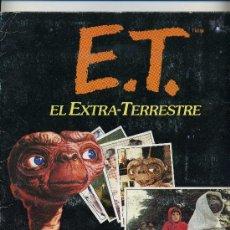 Cine: E.T. EL EXTRATERRESTRE. ALBUM COMPLETO.. Lote 27098755