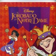 Cine: EL JOROBADO DE NOTRE DAME. ALBUM COMPLETO.. Lote 22885782